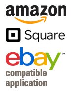 Amazon, eBay & Square Compatible