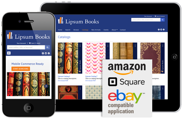 Mobile Friendly, eBay, Amazon, Square Compatible