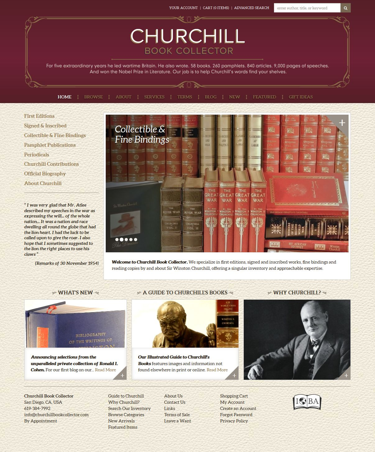 Churchill Book Collector