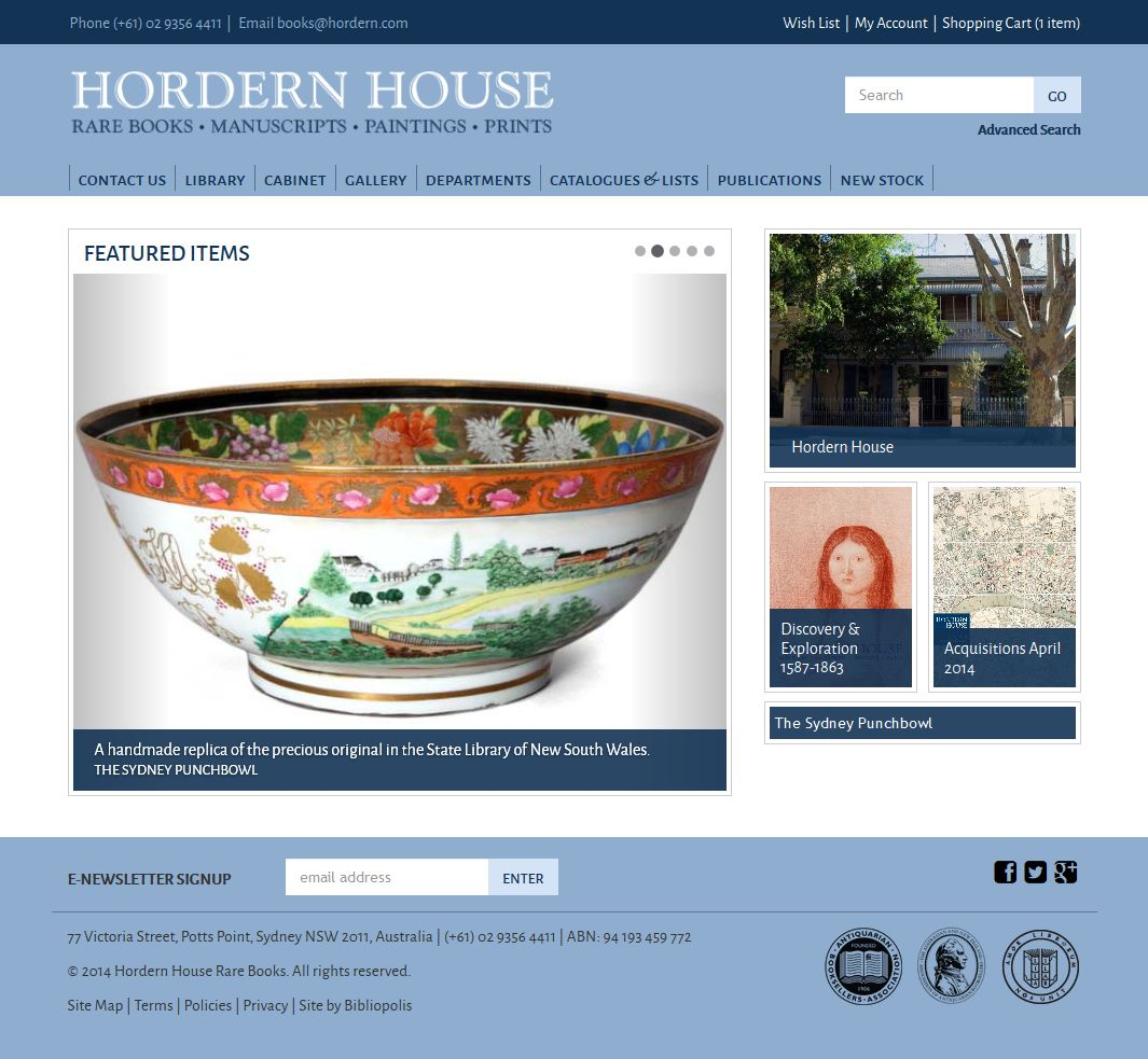 Hordern House Screenshot