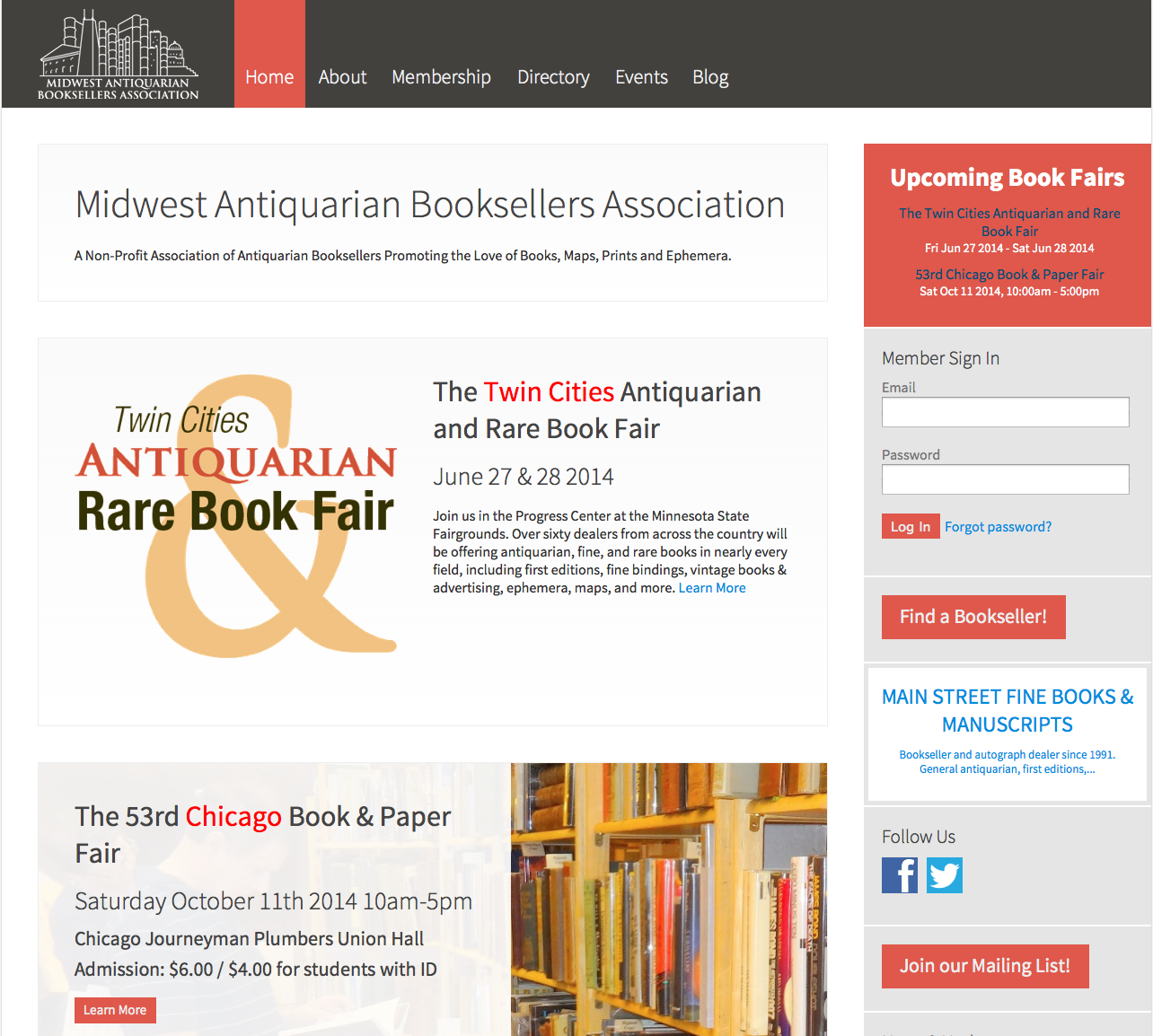 Midwest Antiquarian Booksellers' Association