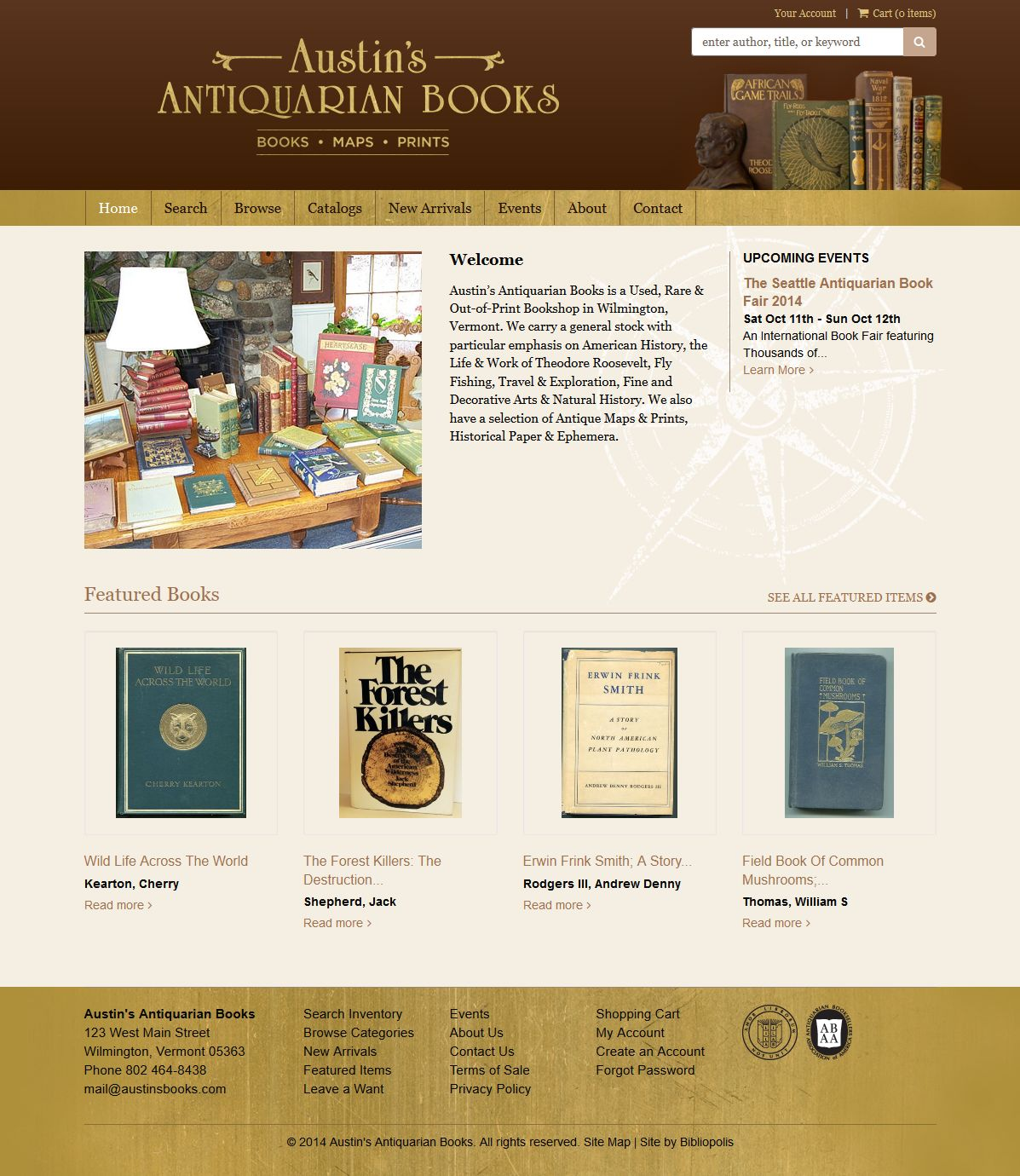 Austin's Antiquarian Books